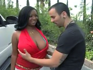 Ebony Interracial Outdoor Bbw Milf Boobs Outdoor
