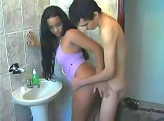 Ebony Toilet Boyfriend Bathroom