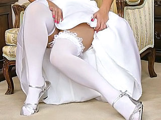 Bride Stockings Upskirt Stockings Upskirt