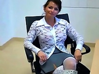 Mature Office Secretary Upskirt Upskirt
