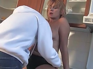 Kitchen Russian Kitchen Mature Russian Mature