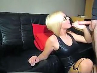 Blonde Blowjob German Glasses German Blonde German Blowjob German