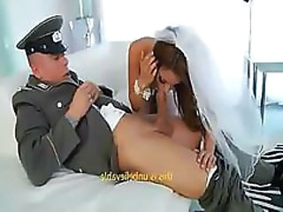 Army Blowjob Bride Clothed Hardcore Uniform Clothed Fuck Crazy