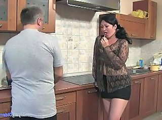 Brunette Chubby Kitchen Mature  Old and Young Young Chubby Mature Old And Young Kitchen Mature Mature Chubby