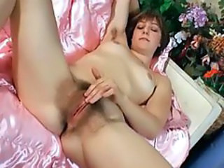 Hairy Masturbating  Solo Hairy Milf Hairy Masturbating Milf Hairy