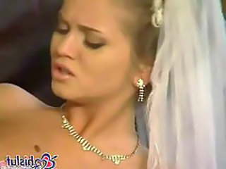 Babe Blonde Bride Bride Sex