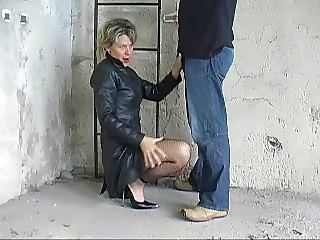 Clothed German Mature German Mature Leather German