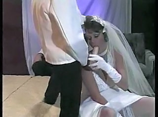 Blowjob Bride Clothed French Stockings Stockings French