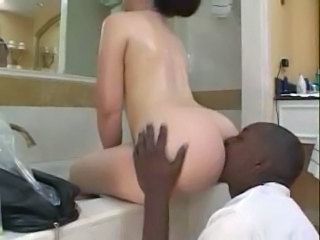 Ass Bathroom Interracial Licking Bathroom Ass Licking