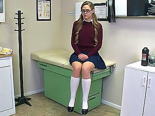Cute Doctor Glasses Skirt Cute Ass