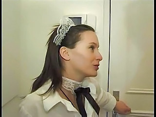 Brunette French Maid French + Maid French