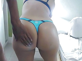 Ass Homemade Interracial Panty Brazilian Ass