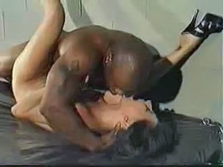 Brunette Hardcore Interracial Rough