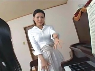 Asian Brunette Teacher Teacher Asian