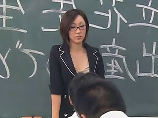Asian Brunette Glasses Japanese Teacher Japanese Teacher Teacher Student Teacher Japanese Teacher Asian
