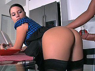 Ass Brunette Clothed Doggystyle European Hardcore Doggy Ass European