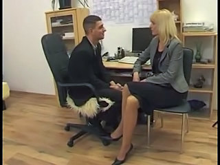 Blonde German Office German Blonde German