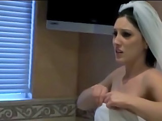 Bride Brunette Married