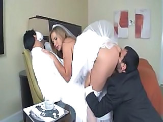 Amazing Bride Groupsex Hardcore Bride Sex