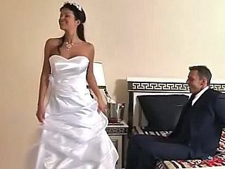 Amazing Bride Brunette