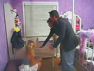 Amateur Babysitter Cute Teen