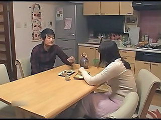 Amateur Asian Japanese Kitchen Girlfriend Blowjob