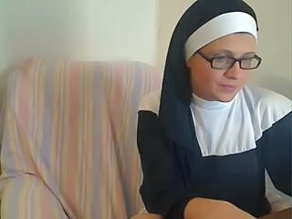 Amateur Glasses Nun Webcam Webcam Amateur Amateur