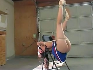 Bondage Cheerleader Tied Cheerleader