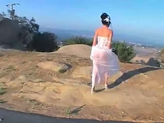 Amateur Bride Homemade Outdoor Outdoor Outdoor Amateur Amateur