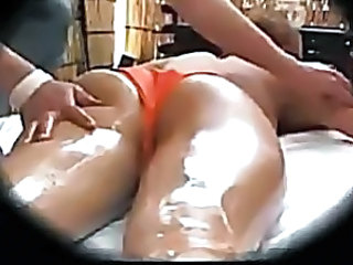Asian HiddenCam Massage Oiled Voyeur Massage Asian Massage Oiled Oiled Ass