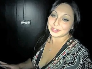 Gloryhole Latina  Swallow Latina Milf