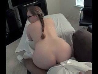 Chubby Glasses Hardcore Chubby Ass