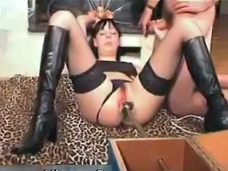 Machine Panty Pussy Stockings Kinky Stockings