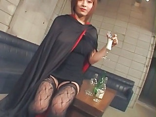 Asian Pornstar Stockings Vintage Vampire Stockings
