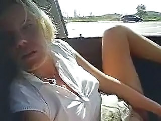 Car Masturbating Wife