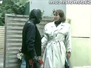 Femdom Latex Older Fingering Older Man German