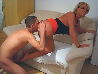 Blonde Glasses Licking Mature Pornstar Stockings Mature Ass Blonde Mature Ass Licking