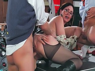 Brunette Glasses  Office Secretary Stockings Threesome Stockings Milf Ass Milf Stockings Milf Office Milf Threesome Office Milf Threesome Milf Threesome Brunette