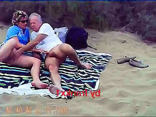 Beach Handjob Older Outdoor Outdoor