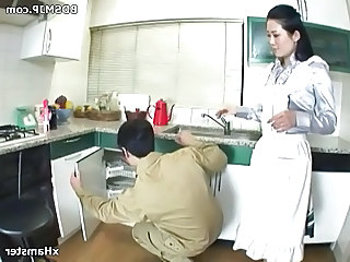 Asian Kitchen Pornstar Asian Anal Plumper Strapon Anal Strapon Femdom