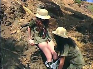 Lesbian Outdoor Uniform Outdoor
