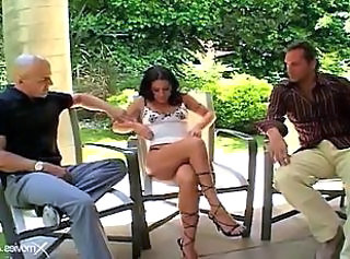 Extreme Hardcore Legs Outdoor Threesome Outdoor Threesome Hardcore