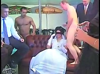 Bride Brunette Cute Gangbang Teen Bride Sex