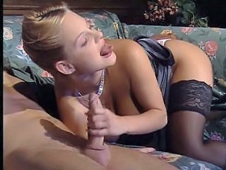 Amazing Blowjob Cuckold Cute  Stockings Blowjob Babe Stockings European Italian