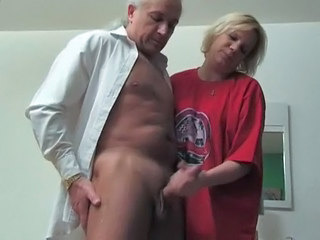 Handjob Mature Older Handjob Mature