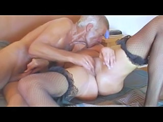 Fishnet Granny Older Fishnet