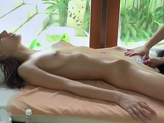 Brunette Massage Masturbating Oiled Small Tits Tits Massage Tits Oiled Massage Oiled Oiled Tits Oiled Ass
