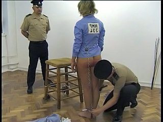 Ass Blonde Prison Threesome Uniform Son Threesome Blonde