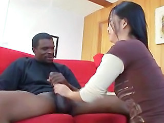 Asian Handjob Interracial Handjob Asian