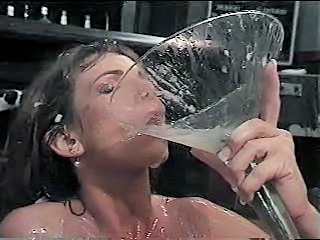 Brunette Bukkake Facial Fetish